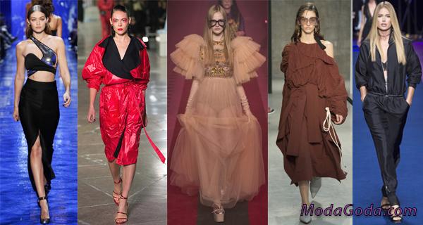 Главные тенденции в женской моде весна-лето 2017