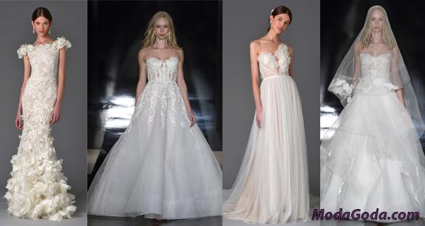 Модные свадебные платья весна-лето 2017