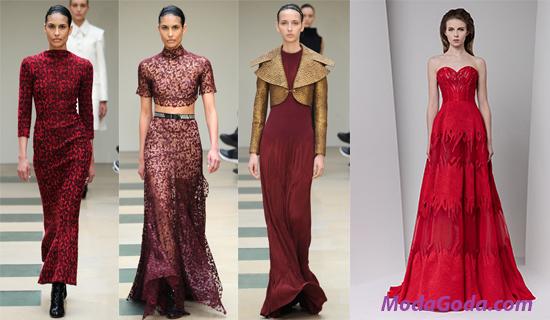 Красные Платья В Пол 2017