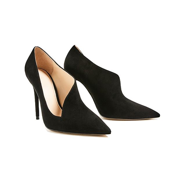 Черные туфли-лодочки