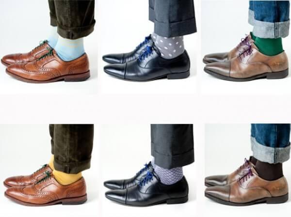 Цвет носков в мужском образе