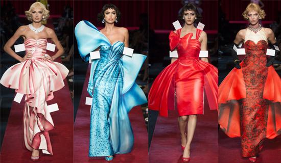 вечерние платья от Moschino