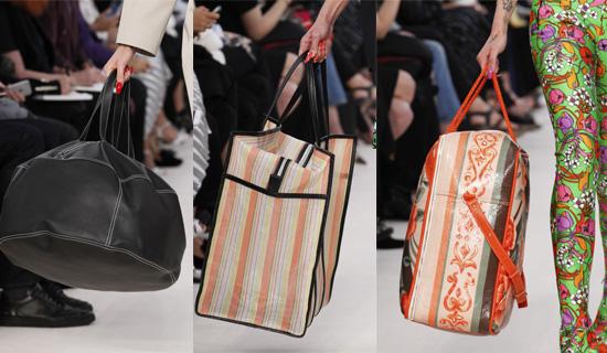 Модные сумки Balenciaga весна-лето 2017