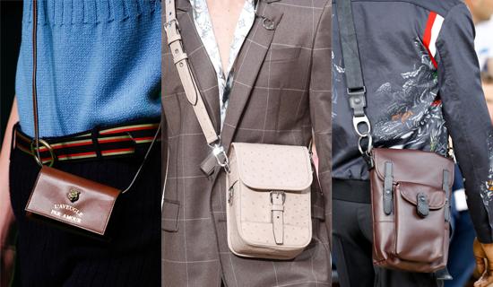 Маленькие мужские сумки