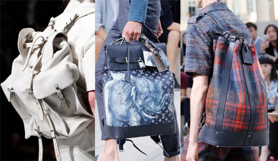 Модный мужской рюкзак весна-лето 2017