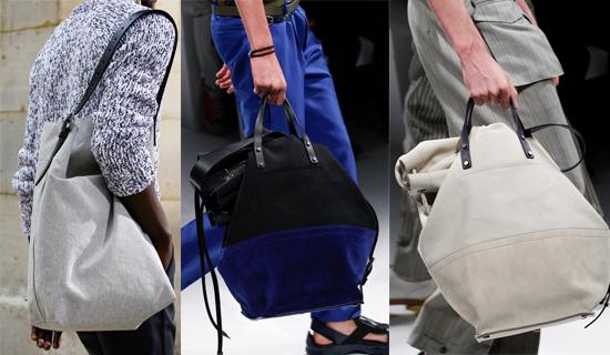 Мужские текстильные сумки 2017