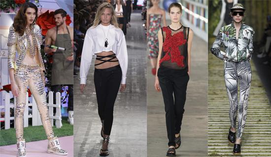 Узкие женские брюки 2017