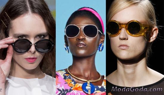Круглые солнцезащитные очки 2017