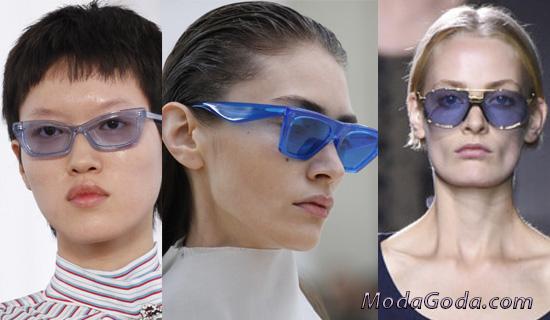 Очки с синими стеклами
