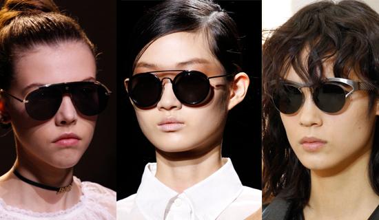 Солнцезащитные очки с верхней оправой 2017