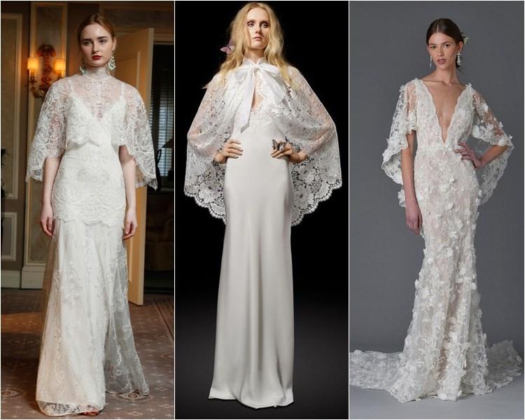 Кружевные свадебные платья рыбий хвост