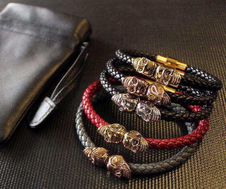 Мужские браслеты Northskull