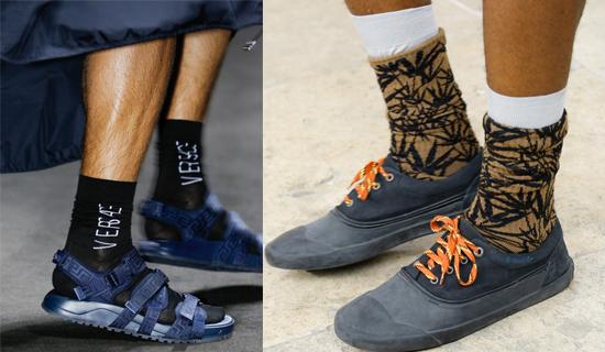какие мужские носки в моде 2017
