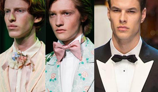 Мужские галстуки бабочки