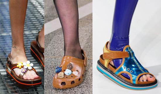 Летние сандалии 2017