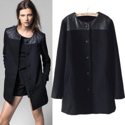 Как выбрать женское пальто черного цвета