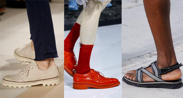 Модная мужская обувь весна-лето 2017
