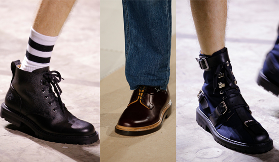 Мужские ботинки 2017