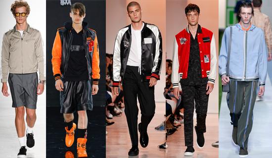 Мужские спортивные куртки 2017