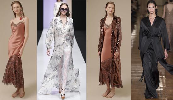 Платья в пижамном стиле