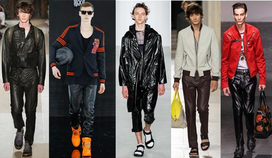 Мужские брюки из кожи 2017