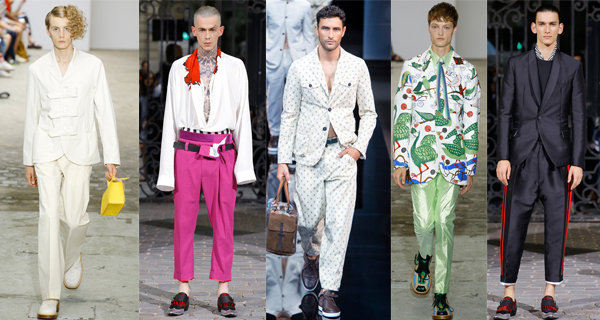 Модные мужские брюки весна-лето 2017