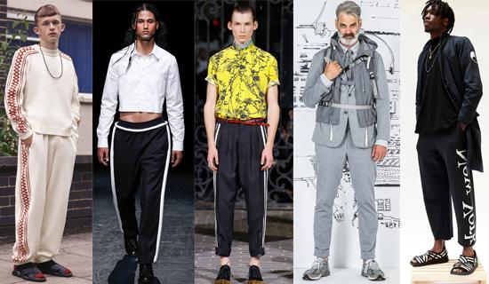 Мужские спортивные брюки 2017