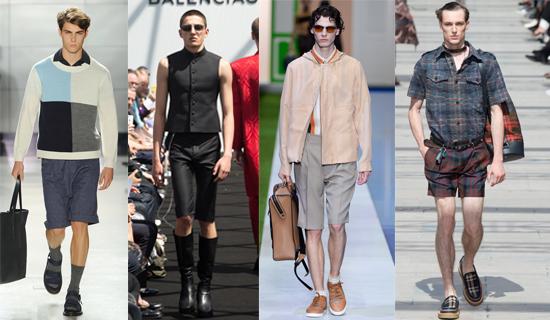 Классические мужские шорты 2017