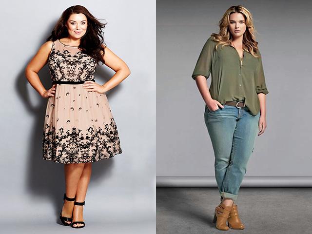 Мода для полных девушек весна-лето 2017