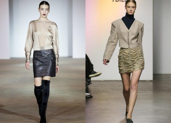 Модные юбки мини весна-лето 2017