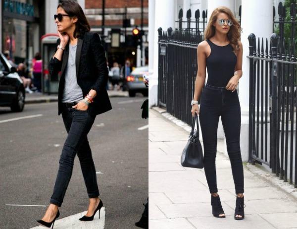 Модные джинсы скинни весна-лето 2017