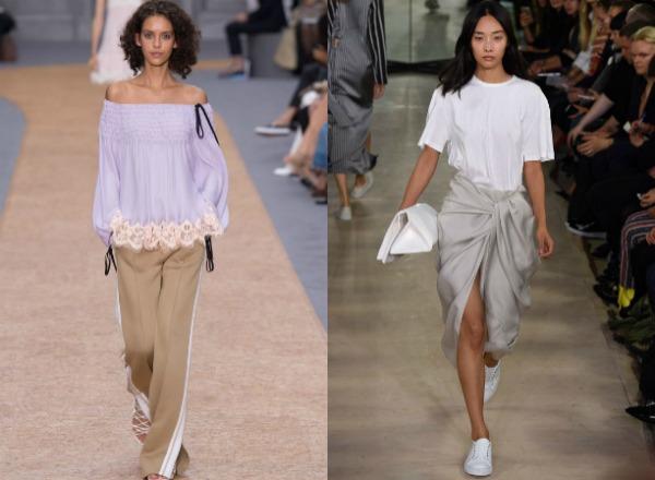 Женские футболки в стиле оверсайз весна-лето 2017