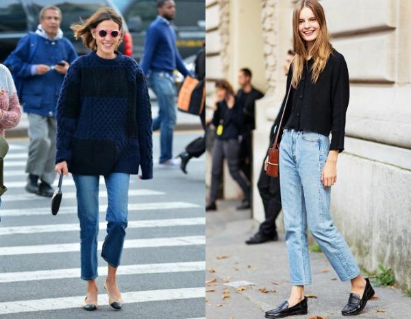 Модные укороченные джинсы весна-лето 2017