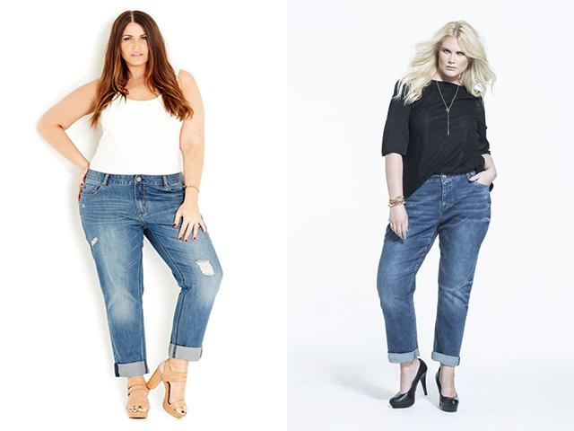 Модные джинсы для полных девушек 2017