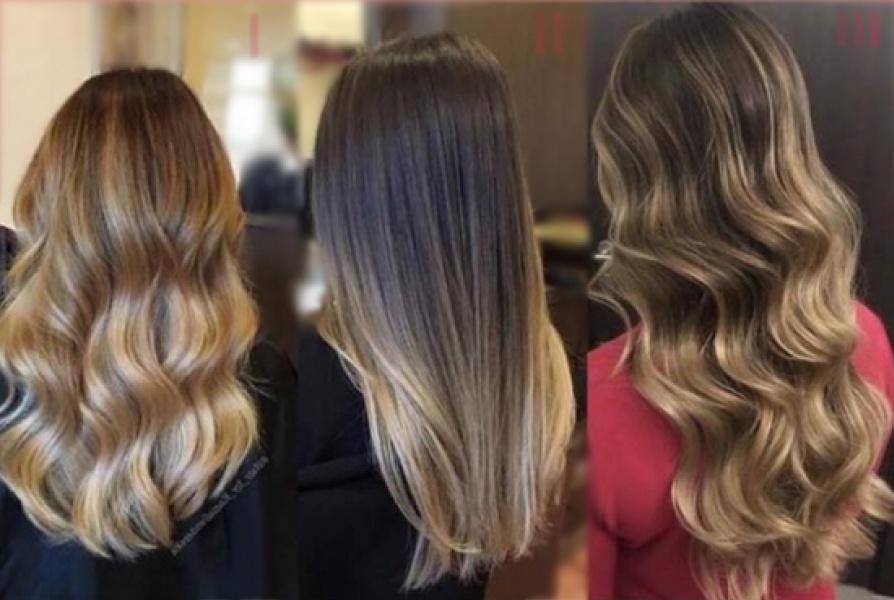 Модное мелирование для русых волос