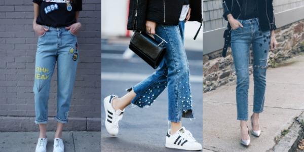 Модные женские джинсы весна-лето 2017