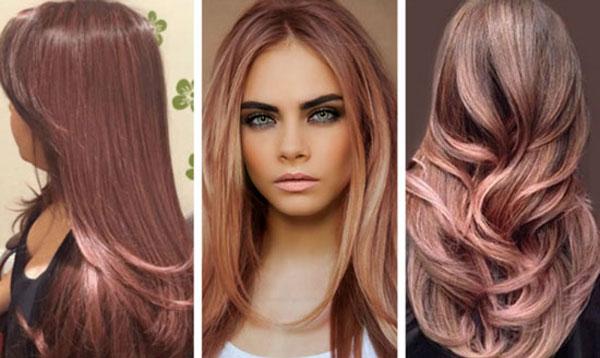 Модный розовый цвет волос весна-лето 2017