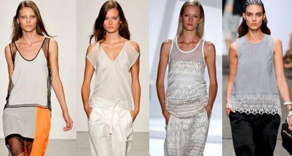 Модные женские майки, футболки и топы весна-лето 2017
