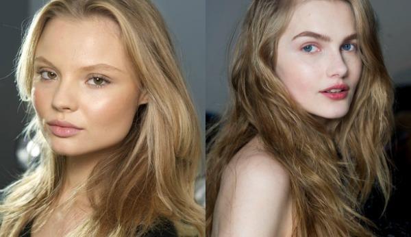 Натуральный макияж весна-лето 2017