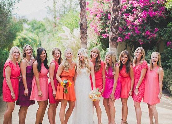 Розовые вечерние платья