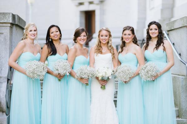 Модные платья для подружки невесты 2017