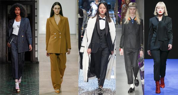 Классические брючные костюмы 2018