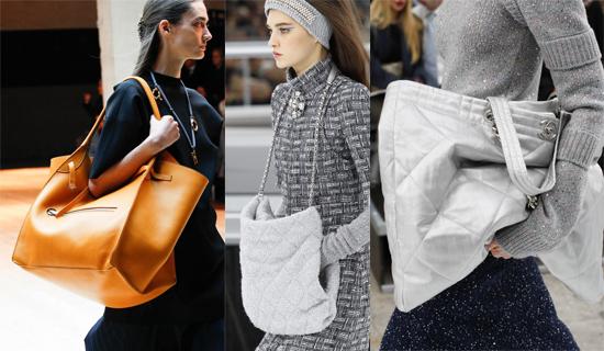 Модные большие сумки осень-зима 2017-2018