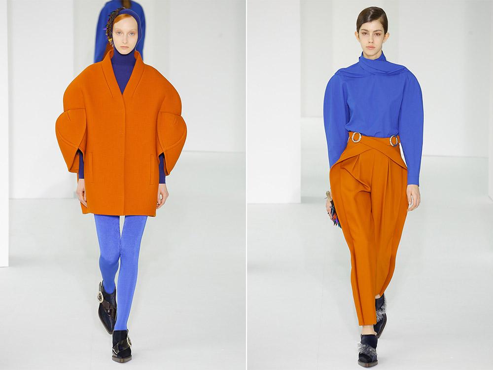 Оранжевое пальто 2018