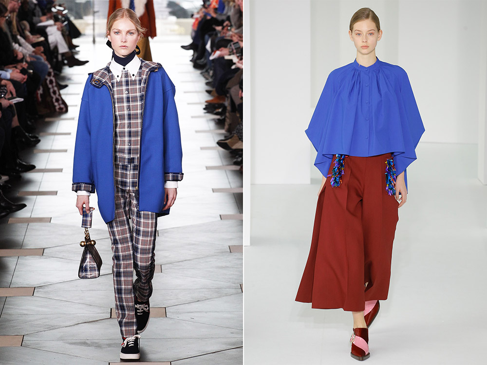 Голубая женская блузка 2018