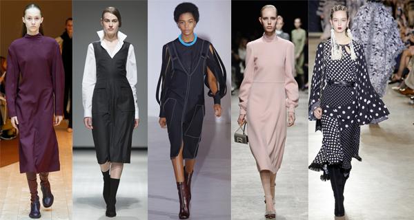 Модные офисные платья осень-зима 2017-2018  2fcc2271976b4