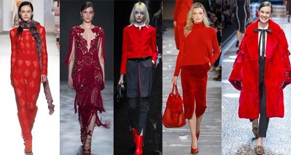 Красные платья 2018