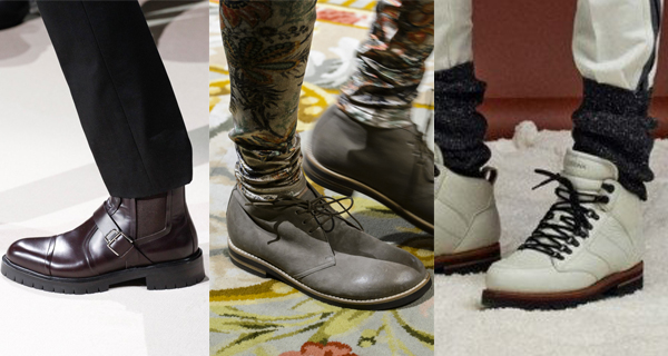 Мужские ботинки осень 2017