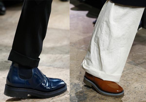 Лаковые ботинки 2018