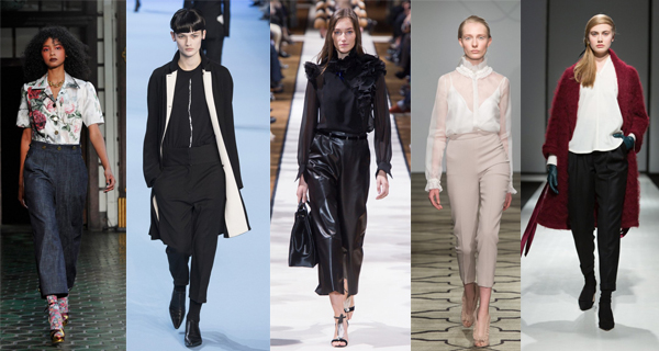 Укороченные женские брюки 2018